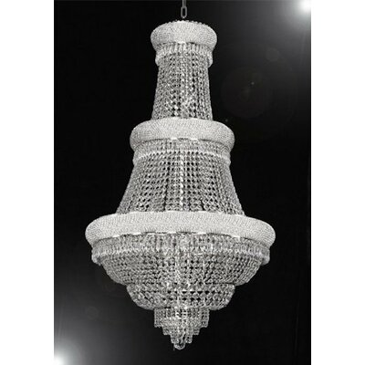 Loiselle 21-Lights LED Empire Chandelier