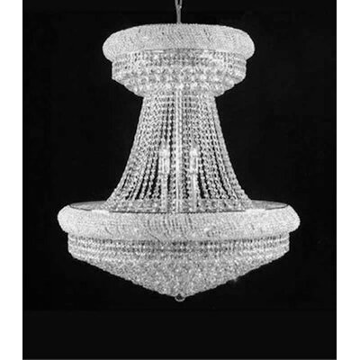 Jenkins 28-Lights LED Empire Chandelier