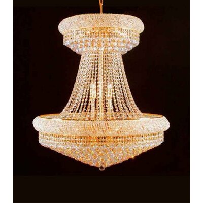 Loken 28-Lights LED Empire Chandelier