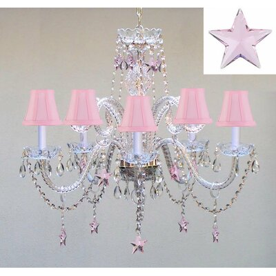 Dreshertown 5-Light LED Crystal Chandelier