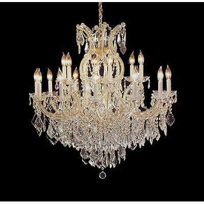 Andrade 16-Lights LED Candle-Style Chandelier