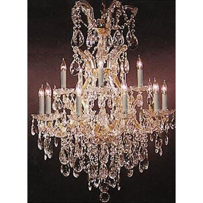 Kingsview 13-Lights LED Candle-Style Chandelier