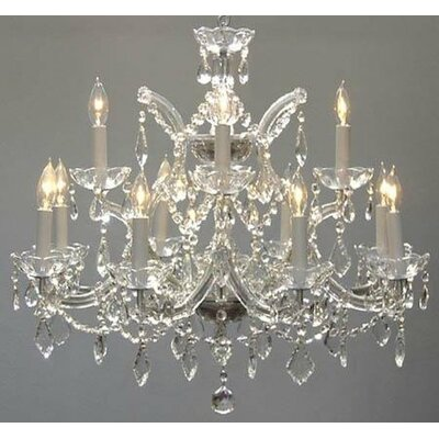 13-Lights LED Candle-Style Chandelier