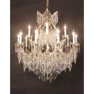 George 16-Light Crystal Chandelier