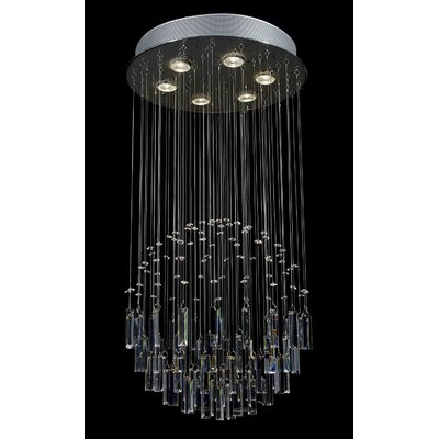 Antoninus 6 Light Waterfall Chandelier