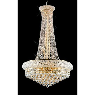 French Empire 15 -Light Crystal Chandelier
