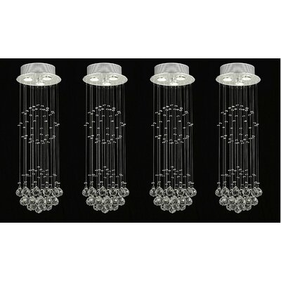 Antoninus Empress Crystal 3-Light Crystal chandelier