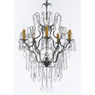 Clemence 5-Light Elegance Crystal Chandelier