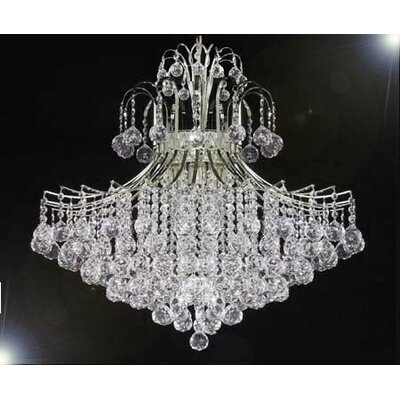 Swarovski 9-Light Crystal Chandelier
