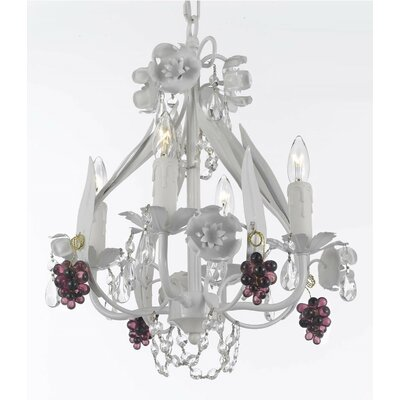 Downie 4-Light Candle-Style Chandelier