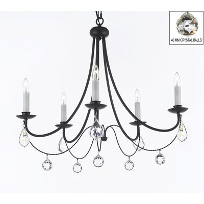 Clemence 5-Light Candle-Style Chandelier