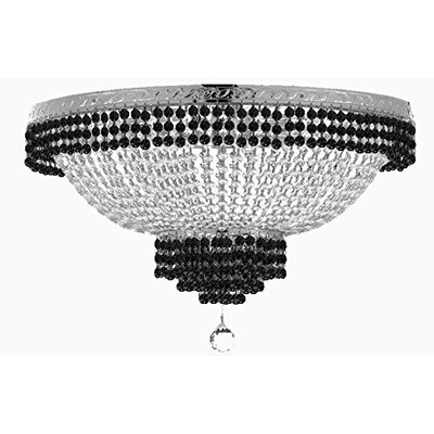 French Empire 9-Light Flush Mount