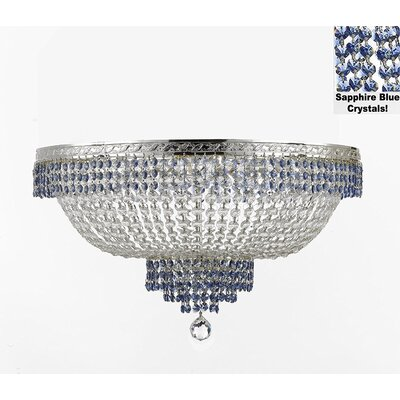 French Empire 14-Light Flush Mount