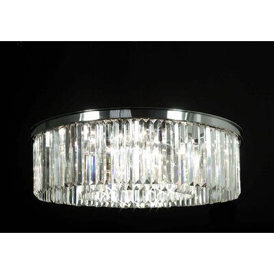 Odeon Empress Crystal 11-Light Flush Mount