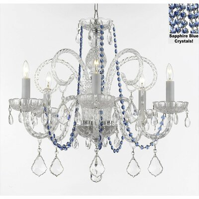 Hoffman 5-Light Candle-Style Chandelier