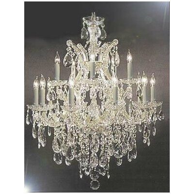 Lonergan 13-Light Crystal Chandelier