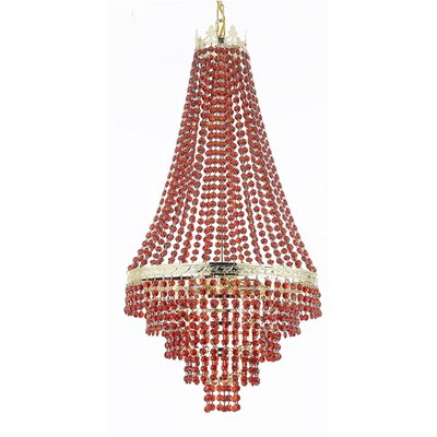 Stewart 4-Light Crystal Chandelier