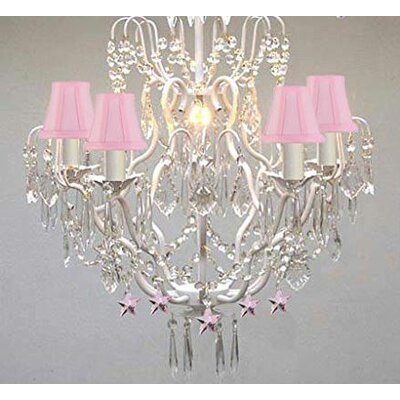 Dressler 5-Light Crystal Chandelier