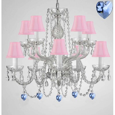 Baylon 10-Light Crystal Chandelier