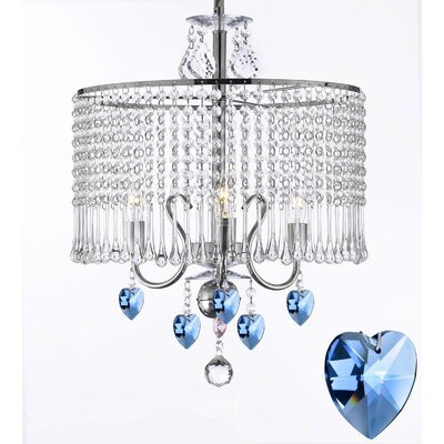 Brandy 3-Light Drum Chandelier