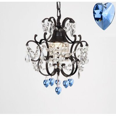 Brassey 1-Light Mini Chandelier