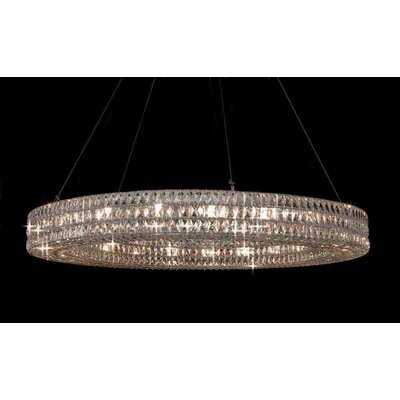 Helina 21-Light Crystal Pendant