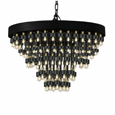Velva 111-Light Crystal Chandelier
