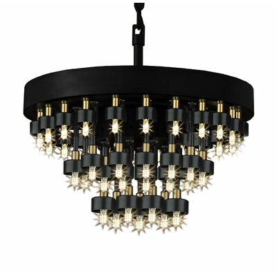 Venetta 44-Light Crystal Chandelier
