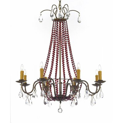 Wellersburg 8-Light Crystal Chandelier