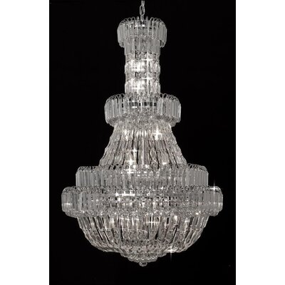 Beal 24-Light Empire Chandelier