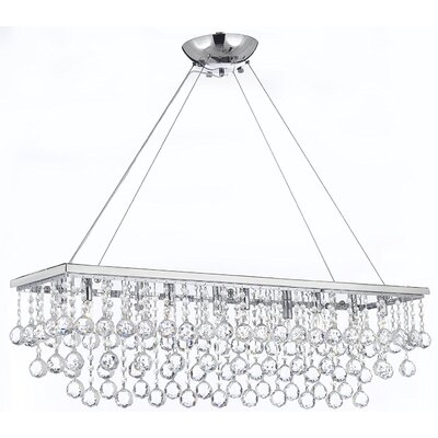 Aramantha 10-Light Crystal Chandelier