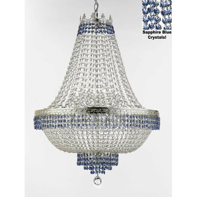 Weiler 14-Light Empire Chandelier Finish: Silver