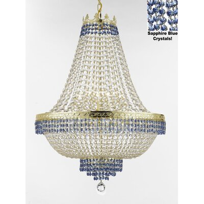 Weiler 14-Light Empire Chandelier Finish: Gold