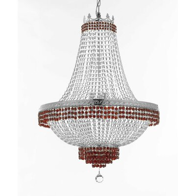 Weidner 14-Light Empire Chandelier Finish: Silver