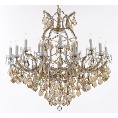 Carswell 16-Light Candle-Style Chandelier