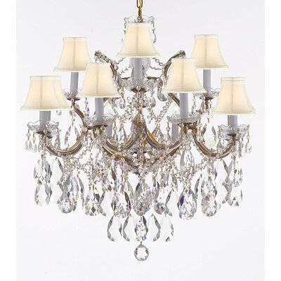 Carswell 13-Light Candle-Style Chandelier
