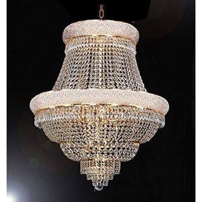 Bortz 21-Light Empire Chandelier