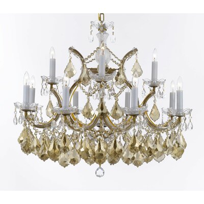 Barrera 13-Light Candle-Style Chandelier