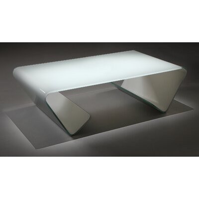 Omega Coffee Table Color: White