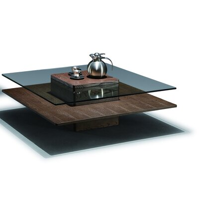 Dora Coffee Table Color: Walnut
