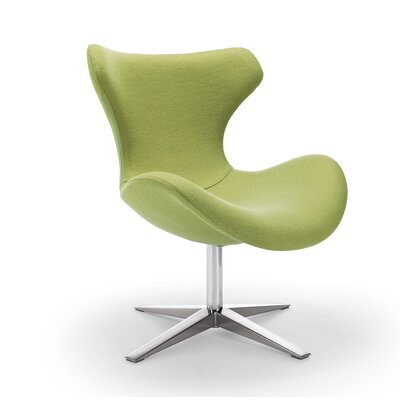 Maya Lounge Chair Upholstery: Green