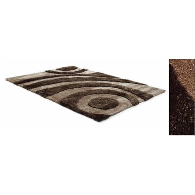 Two Tone Tan/Brown Area Rug