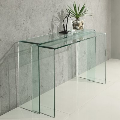 Vision 2 Piece Console Table Set Vision Console Table