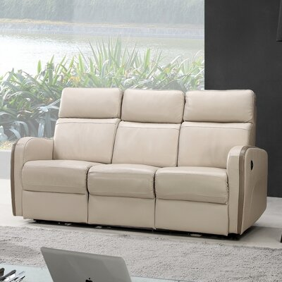 Argentina Leather Reclining Sofa