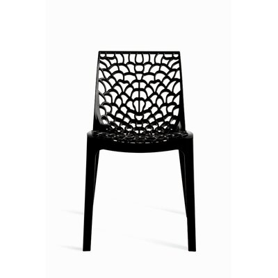 Gruvyer Side Chair (Set of 2) Finish: Antracite