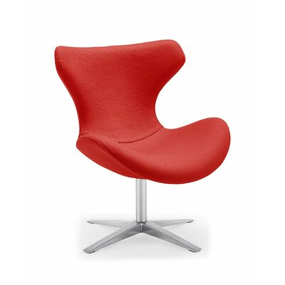 Maya Lounge Chair Upholstery: Rose Red