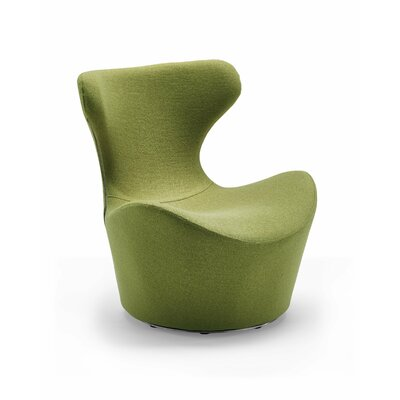 Madison Swivel Lounge Chair Upholstery Color: Green