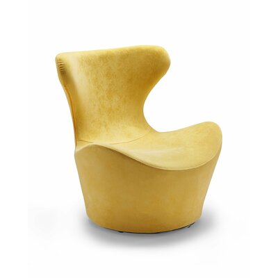 Madison Swivel Lounge Chair Upholstery: Yellow