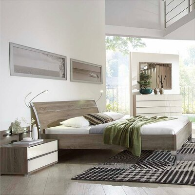 Loft Platform Bed Size: King
