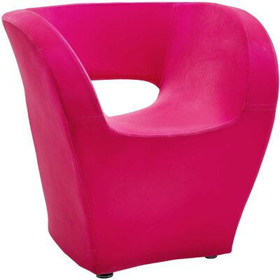 Pandora Barrel Chair Color: Pink